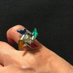 Jewelry - Pinwheel colorful ring